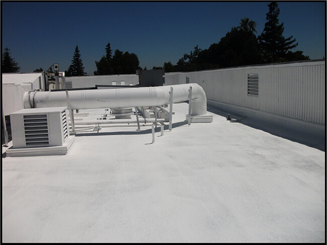 Spray Polyurethane Foam Roof—Atherton - After
